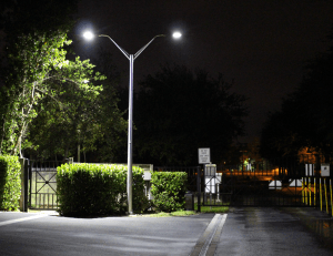 Parking lot security smart camera smart led lighting for security parking lot security solutions mozeypictures Images