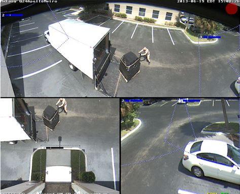 Parking Lot Security Smart Camera Amp Smart Led Lighting