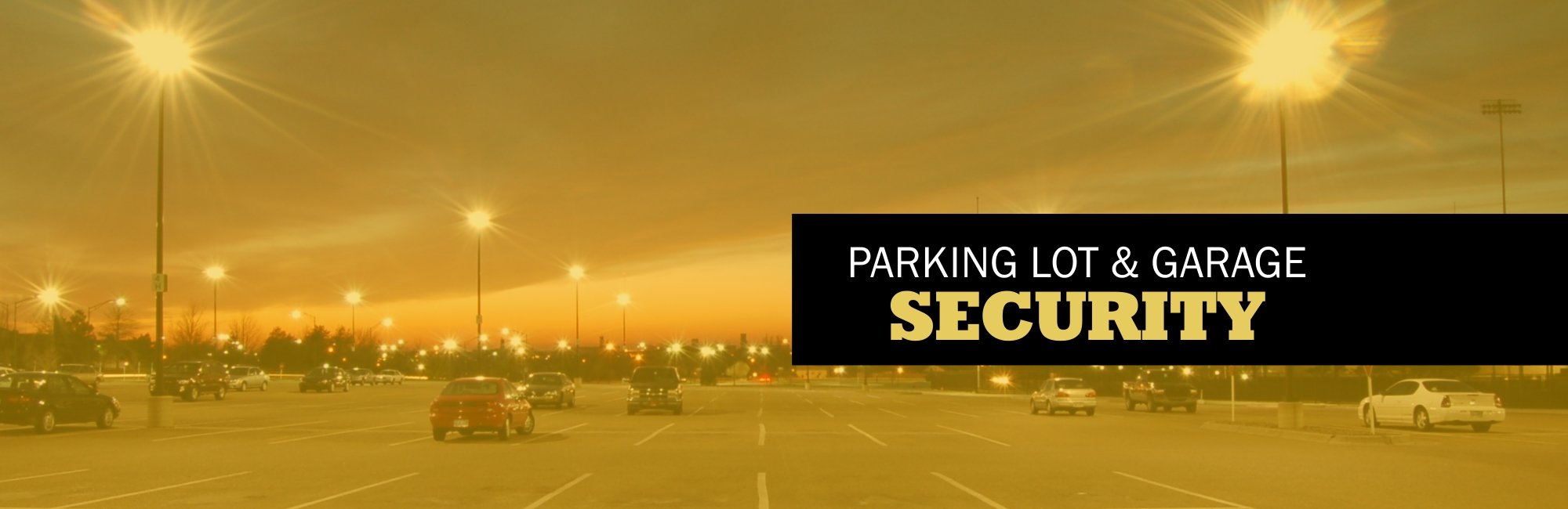 Parking Lot Security Camera Solutions
